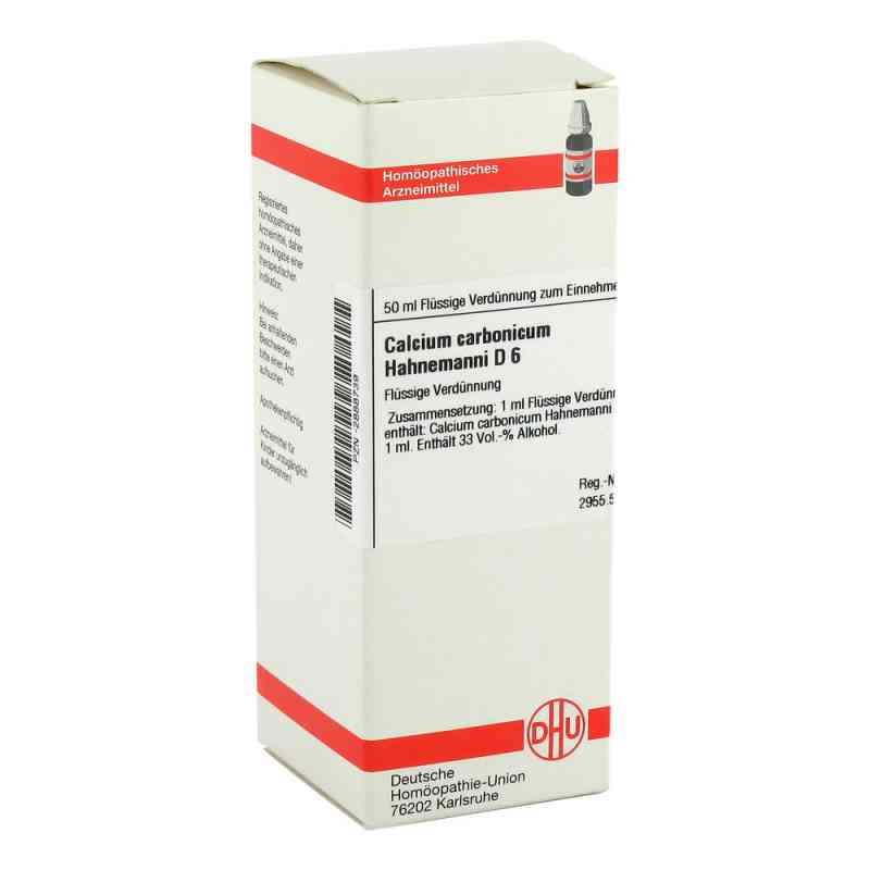 Calcium Carbonicum D6 Dilution Hahnemanni  bei apo-discounter.de bestellen