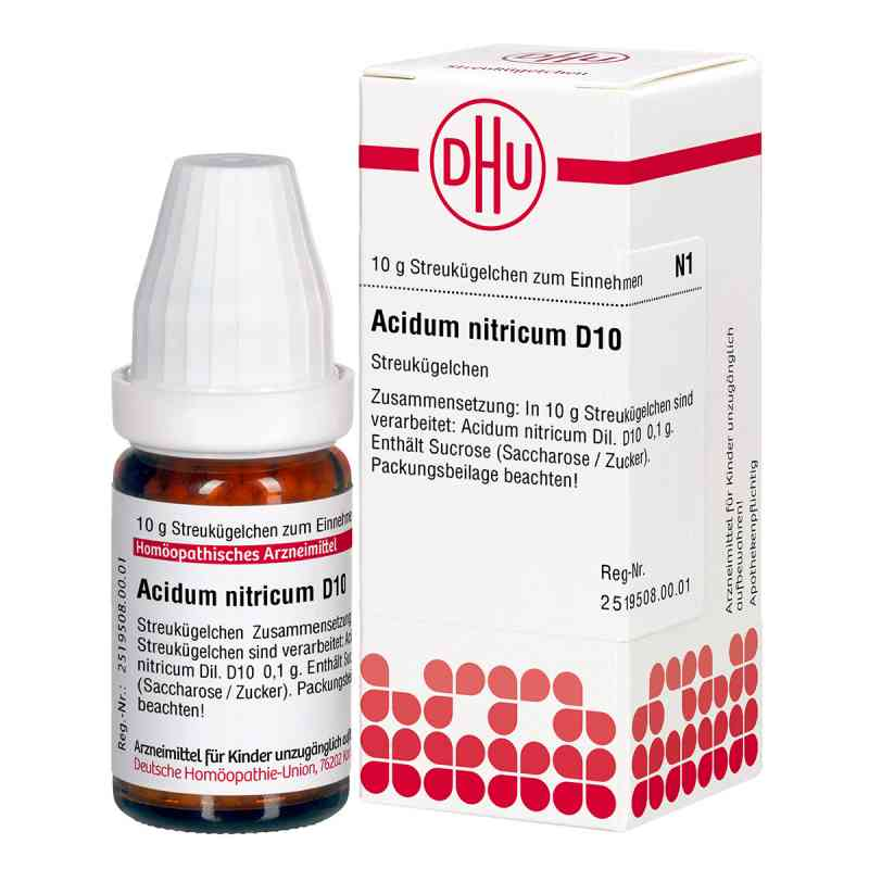 Acidum Nitricum D 10 Globuli  bei apo-discounter.de bestellen