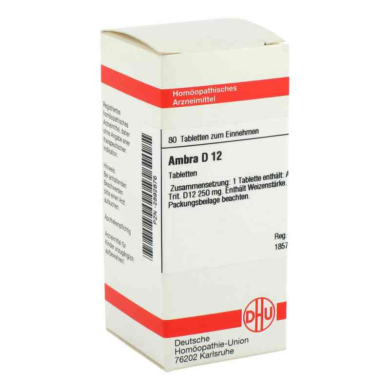 Ambra D12 Tabletten  bei apo-discounter.de bestellen
