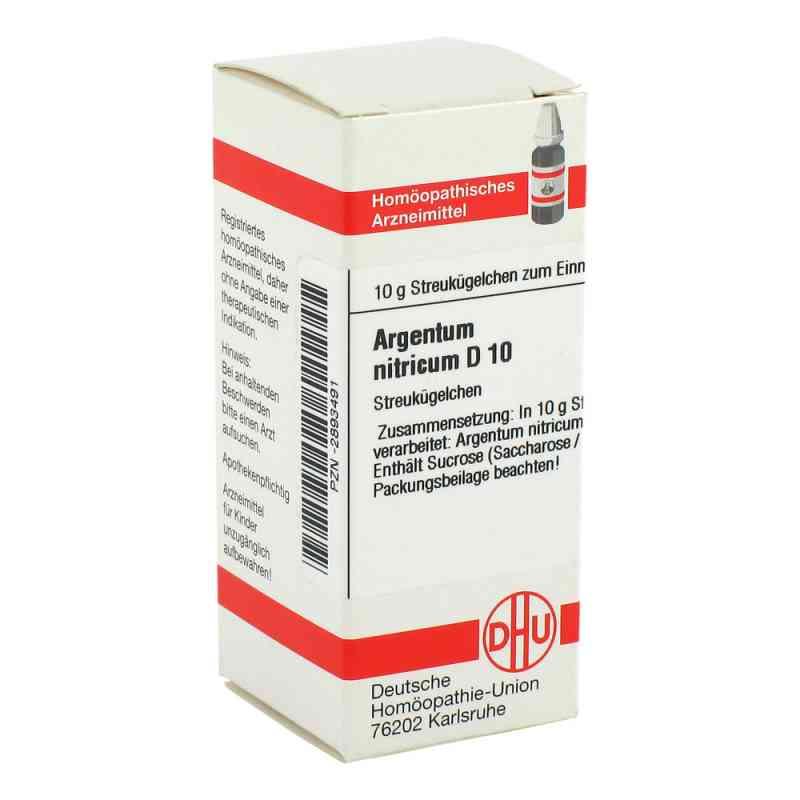 Argentum Nitricum D 10 Globuli  bei apo-discounter.de bestellen