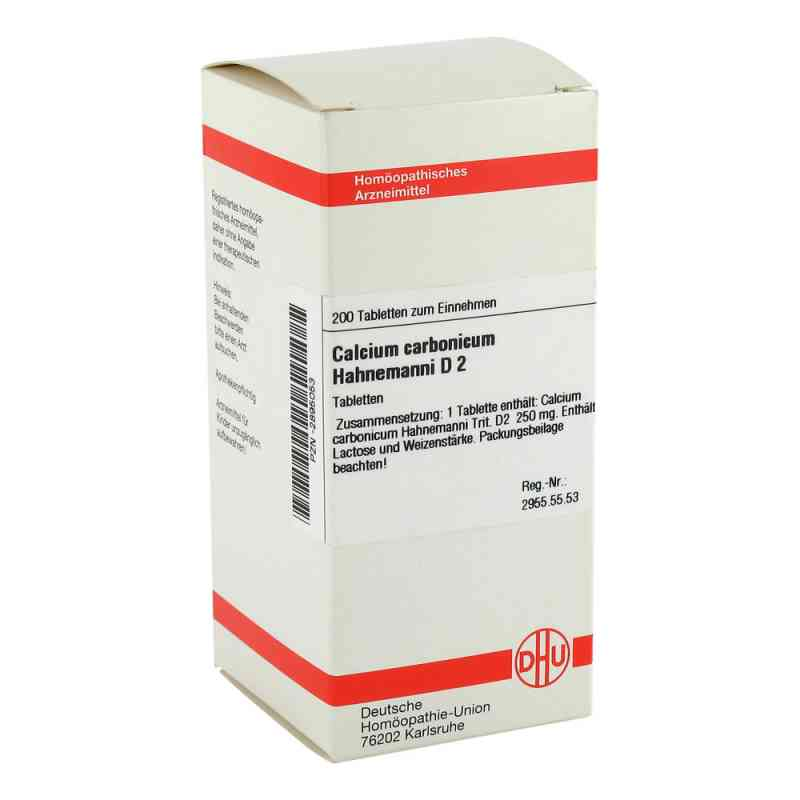 Calcium Carbonicum D 2 Tabletten Hahnemanni  bei apo-discounter.de bestellen