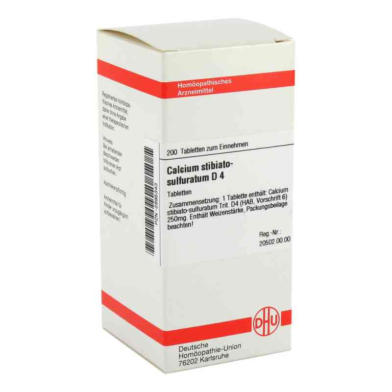 Calcium Stibiato Sulfuratum D4 Tabletten  bei apo-discounter.de bestellen