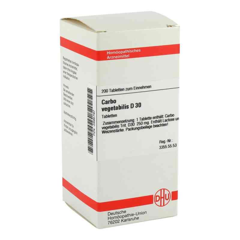 Carbo Vegetabilis D30 Tabletten  bei apo-discounter.de bestellen