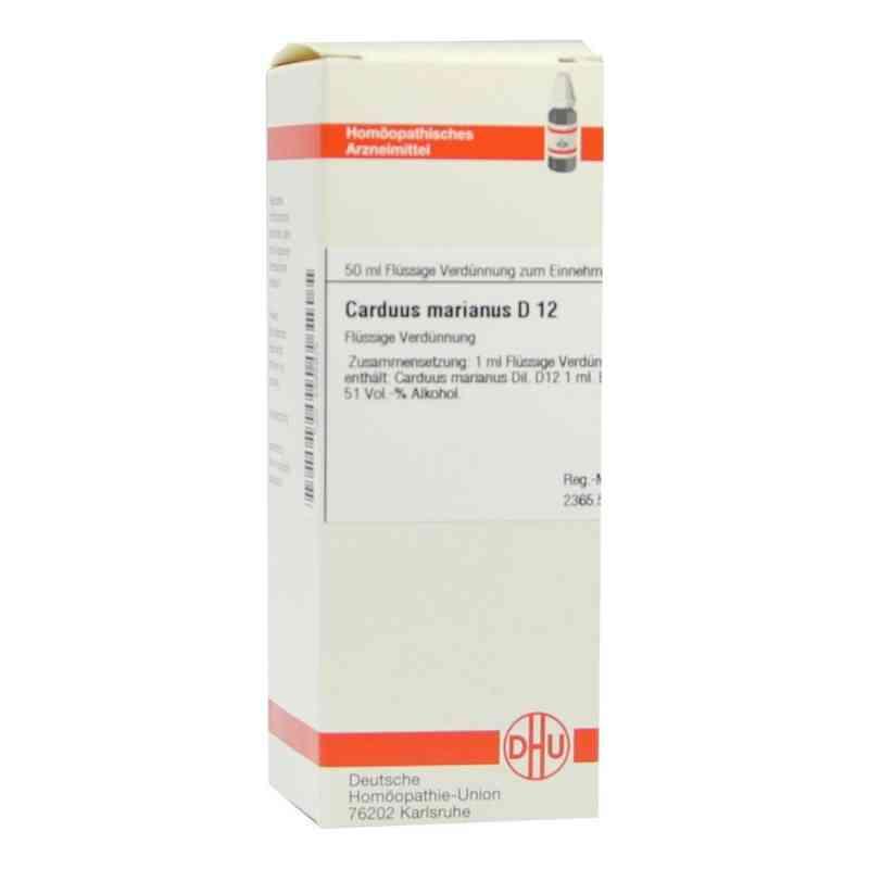 Carduus Marianus D12 Dilution  bei apo-discounter.de bestellen