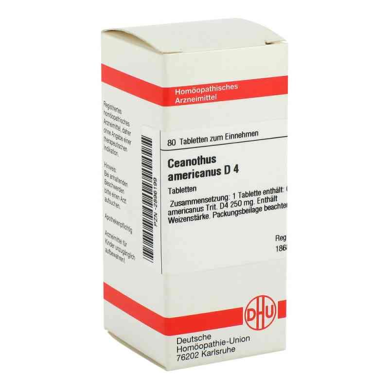 Ceanothus Americanus D4 Tabletten  bei apo-discounter.de bestellen