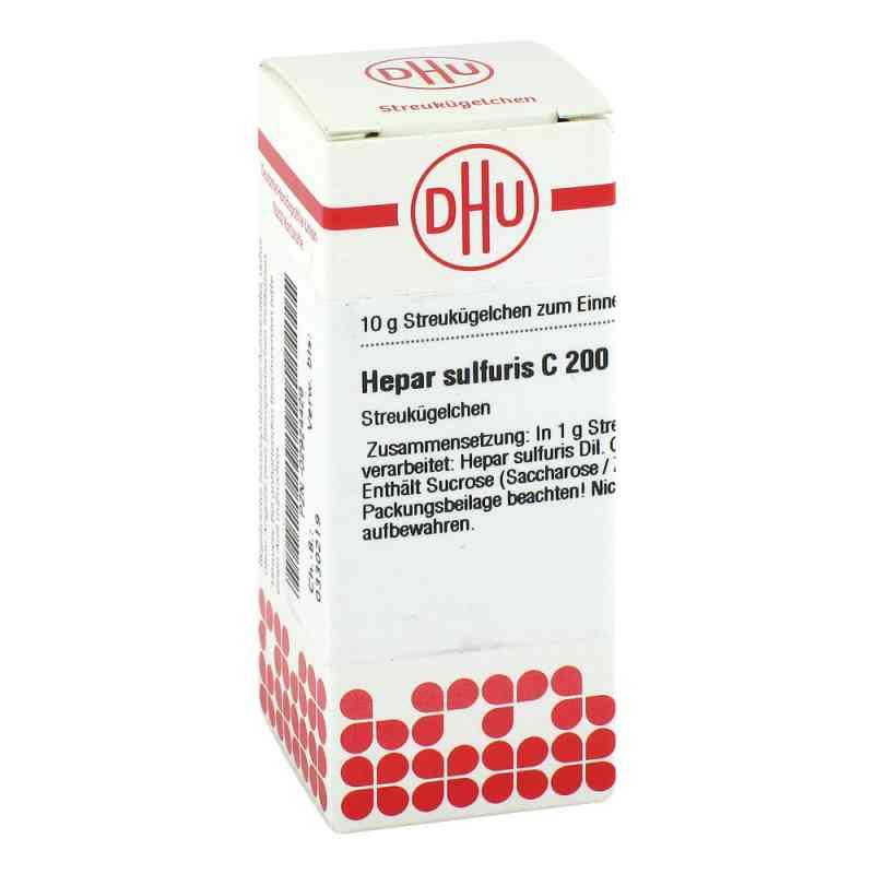 Hepar Sulfuris C 200 Globuli  bei apo-discounter.de bestellen