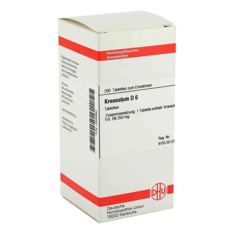 Kreosotum D6 Tabletten  bei apo-discounter.de bestellen