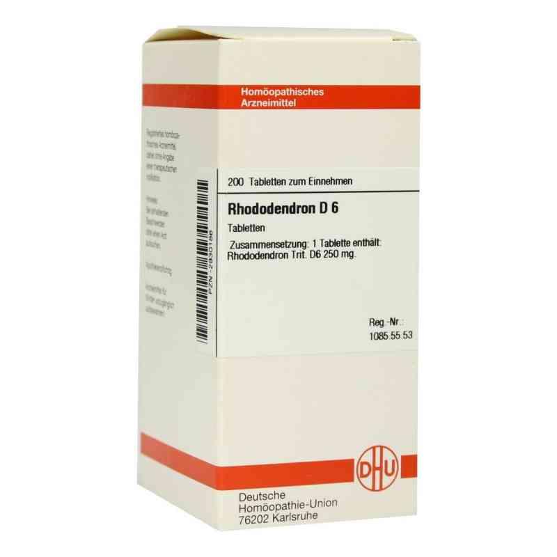 Rhododendron D6 Tabletten  bei apo-discounter.de bestellen