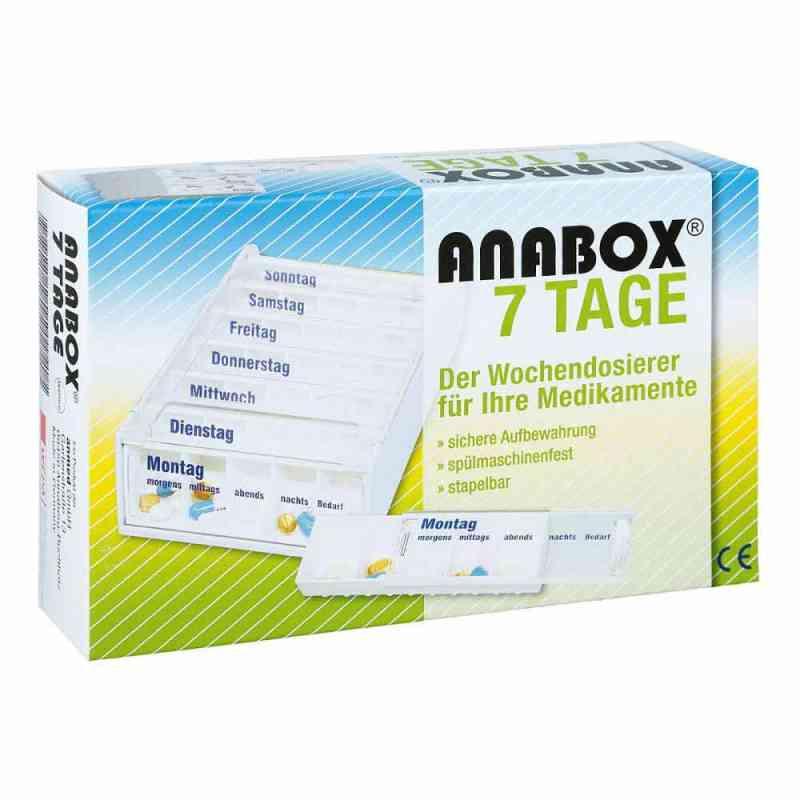 Anabox 7 Tage Wochendosierer weiss  bei apo-discounter.de bestellen