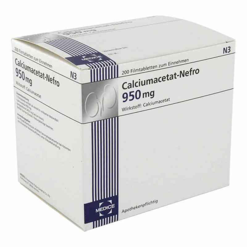 Calciumacetat Nefro 950 mg Filmtabletten  bei apo-discounter.de bestellen