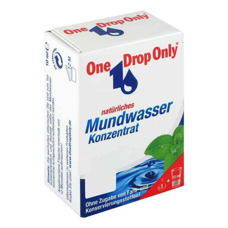 One Drop Only natürl.Mundwasser Konzentrat  bei apo-discounter.de bestellen