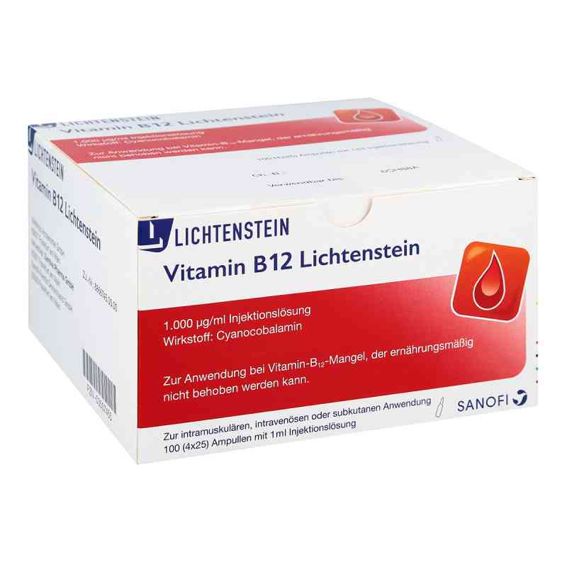 vitamin b12 1000 my g lichtenstein ampullen 100x1 ml. Black Bedroom Furniture Sets. Home Design Ideas