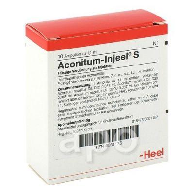 Aconitum Injeel S Ampullen  bei apo-discounter.de bestellen