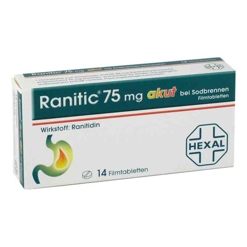 Ranitic 75mg akut bei Sodbrennen  bei apo-discounter.de bestellen