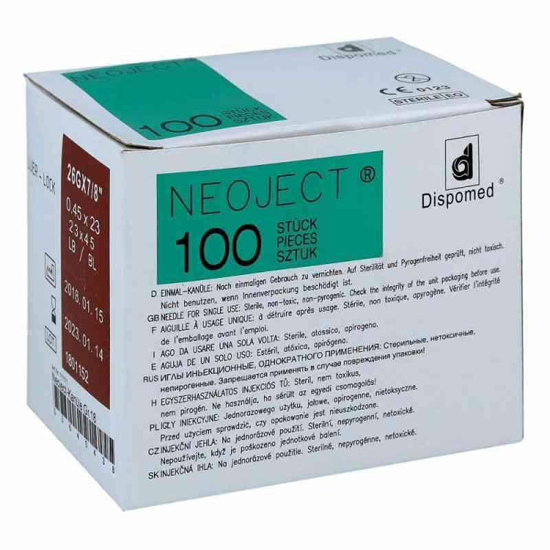 Kanülen Einmal Neoject Größe 1 8 0,45x23mm  bei apo-discounter.de bestellen