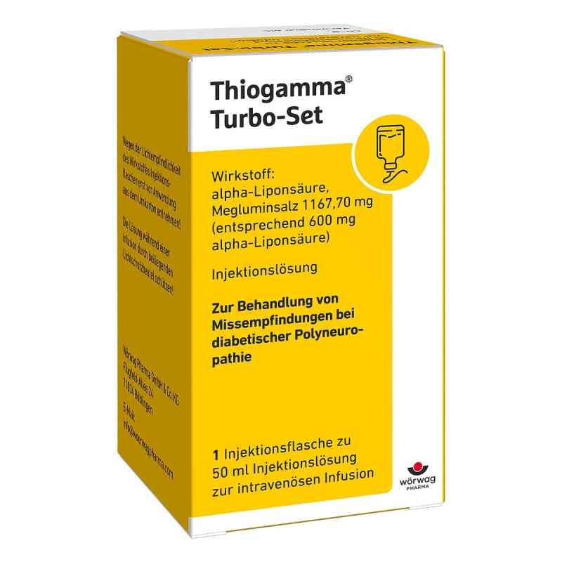 Thiogamma Turbo Set Pur Injektionsflaschen  bei apo-discounter.de bestellen