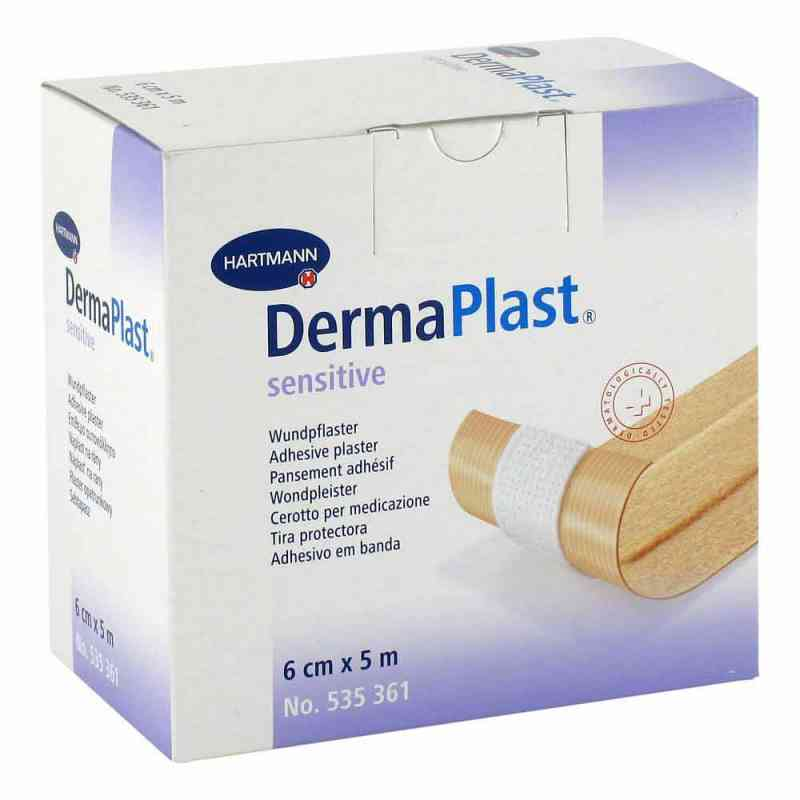 Dermaplast Sensitive Pflaster 6 cmx5 m  bei apo-discounter.de bestellen