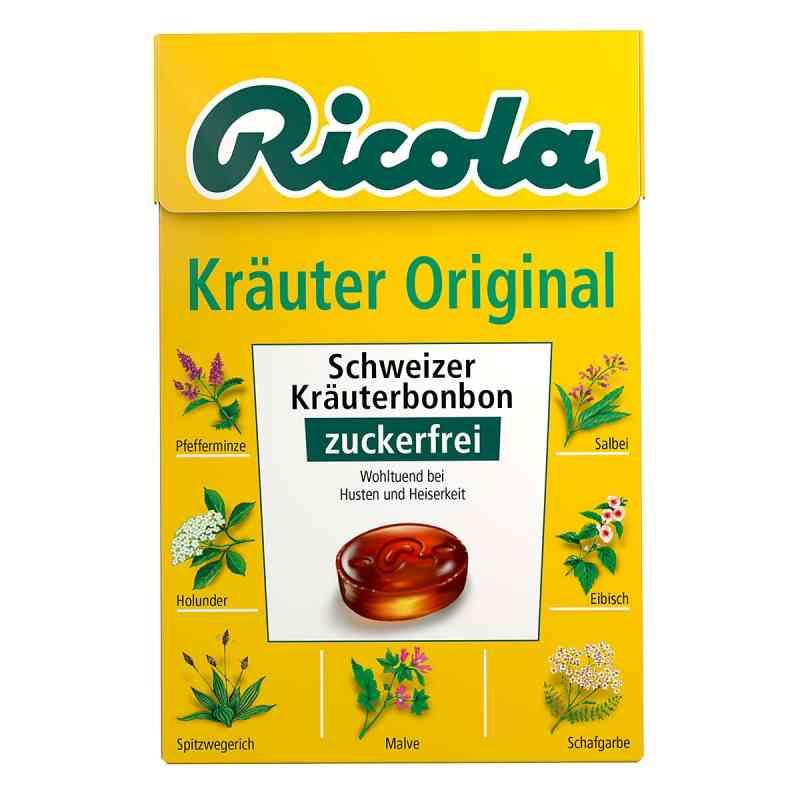 Ricola ohne Zucker Box Kräuter Bonbons  bei apo-discounter.de bestellen