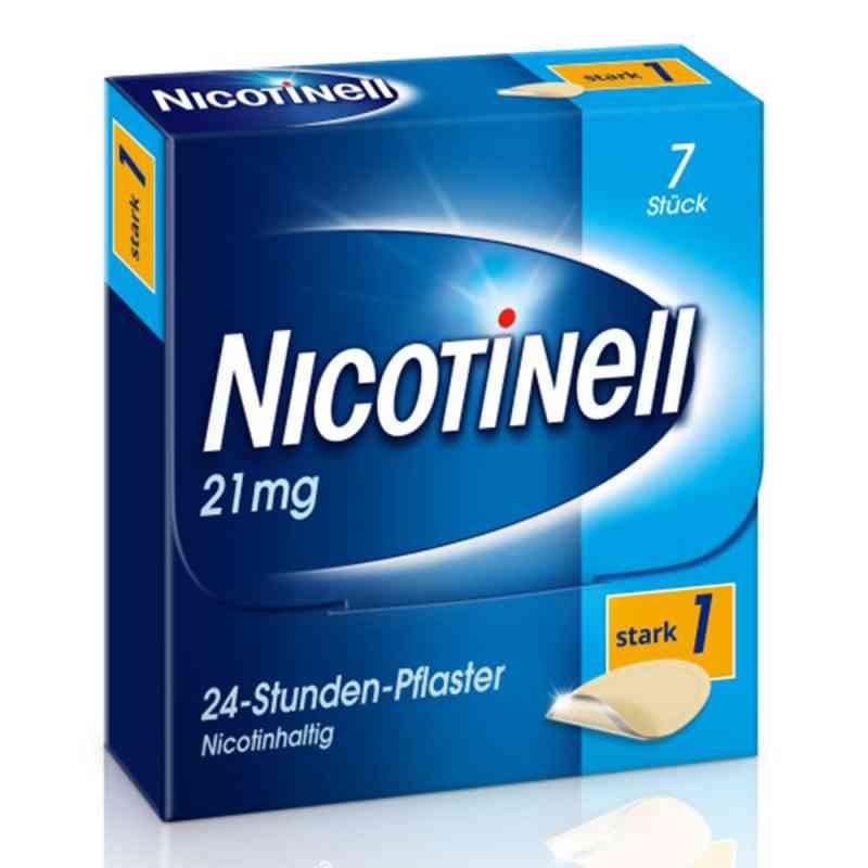Nicotinell 21mg/24-Stunden-Nikotinpflaster, Stark (1)  bei apo-discounter.de bestellen