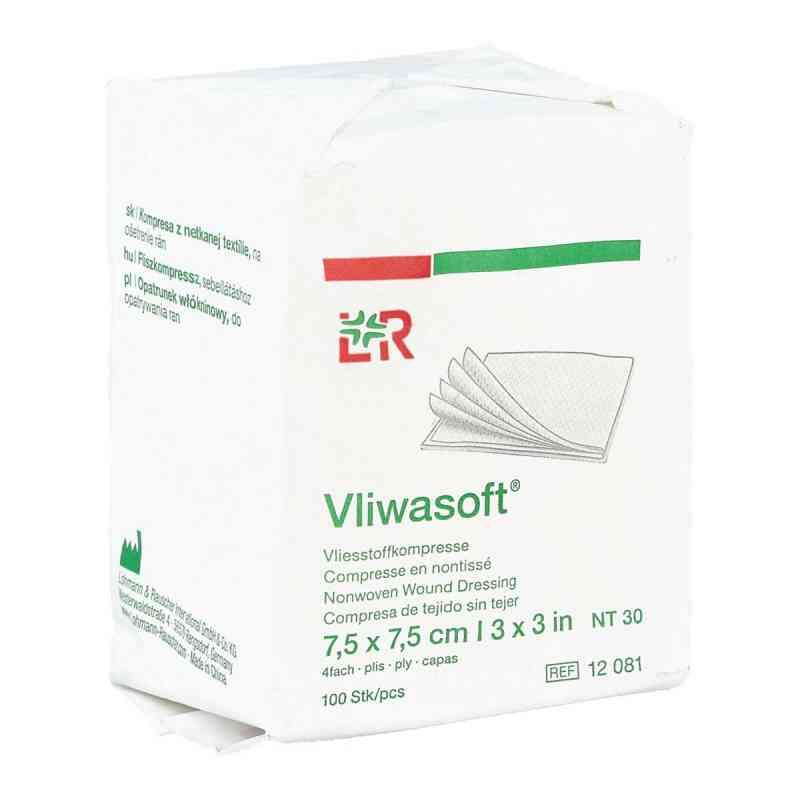 Vliwasoft Vlieskompressen 7,5x7,5 cm unsteril 4l.  bei apo-discounter.de bestellen