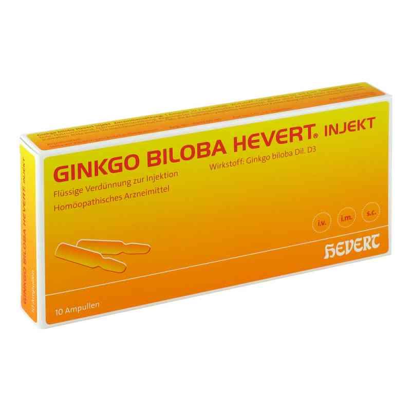 Ginkgo Biloba Hevert Injekt Ampullen  bei apo-discounter.de bestellen