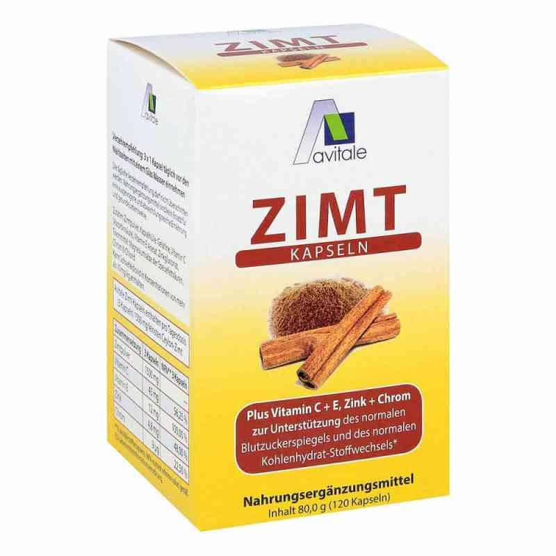Zimt Kapseln 500 mg+Vitamin C+e  bei apo-discounter.de bestellen