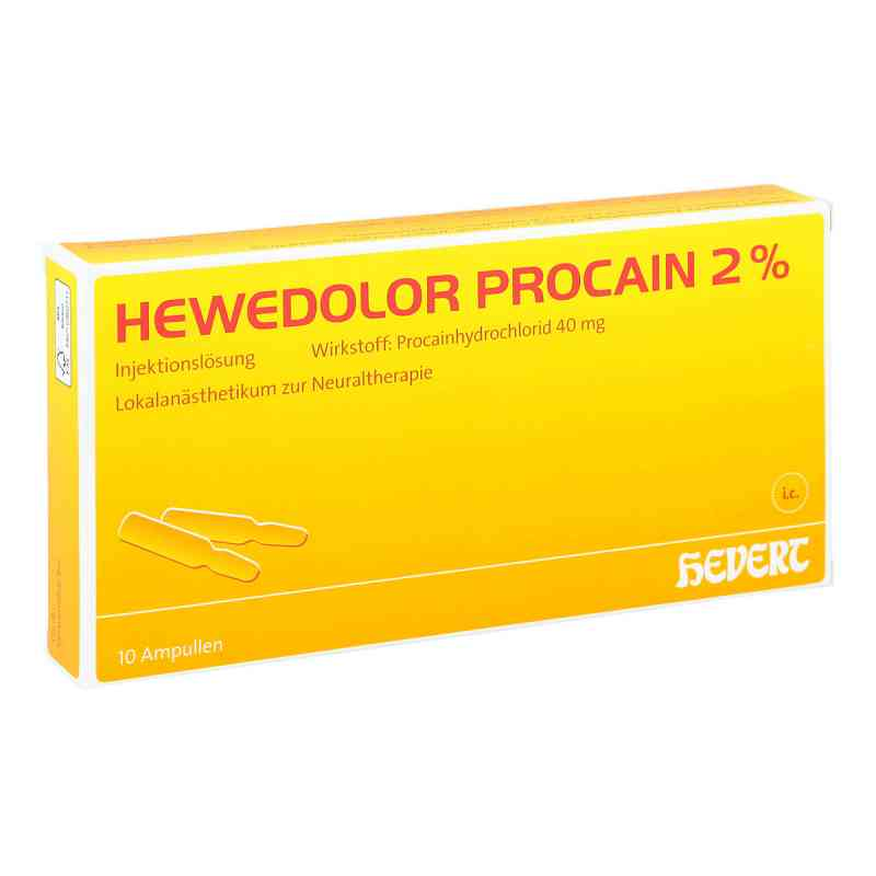 Hewedolor Procain 2% Ampullen  bei apo-discounter.de bestellen