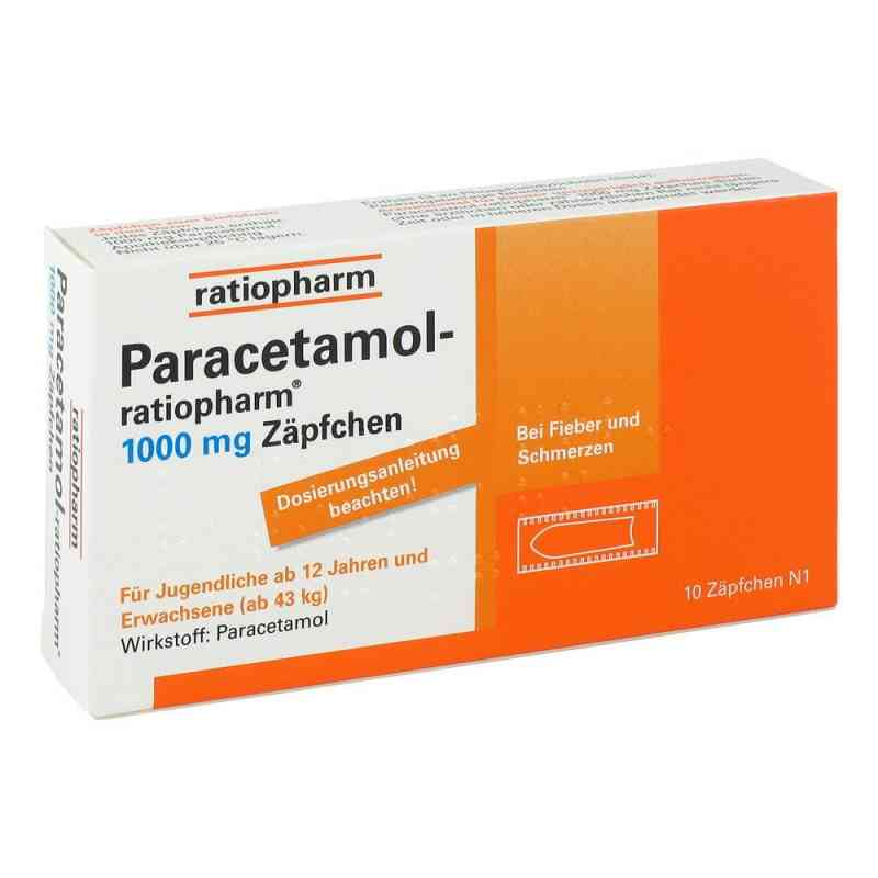 Paracetamol-ratiopharm 1000mg  bei apo-discounter.de bestellen