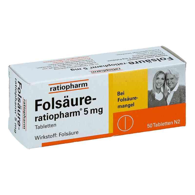 Folsäure Ratiopharm 5 mg Tabletten  bei apo-discounter.de bestellen