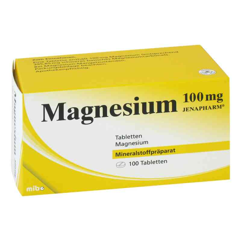Magnesium 100 mg Jenapharm Tabletten  bei apo-discounter.de bestellen