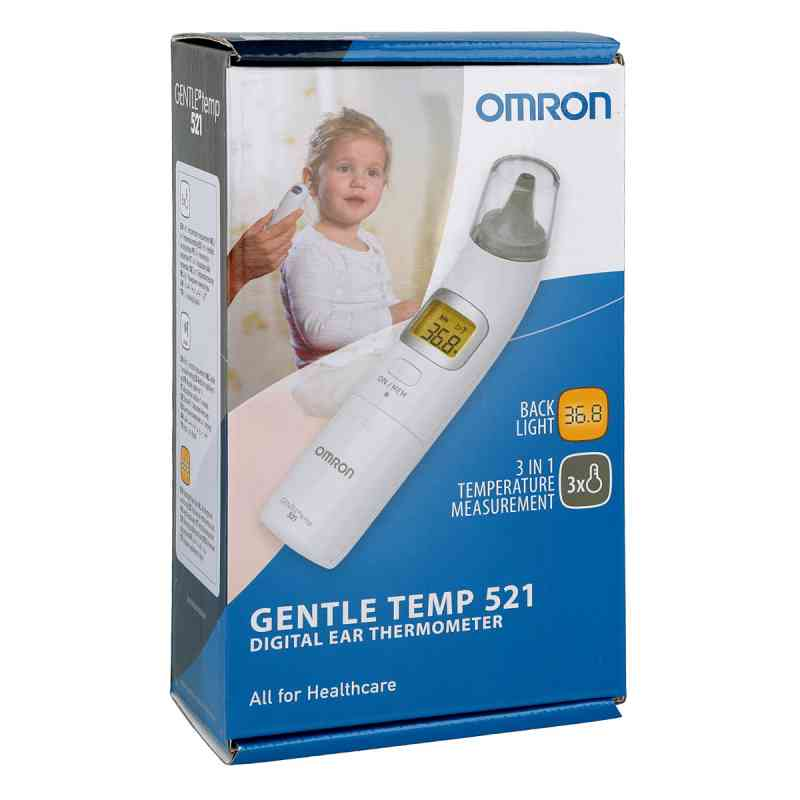 Omron Gentle Temp 521 digit.Infrarot-Ohrtherm.3in1  bei apo-discounter.de bestellen
