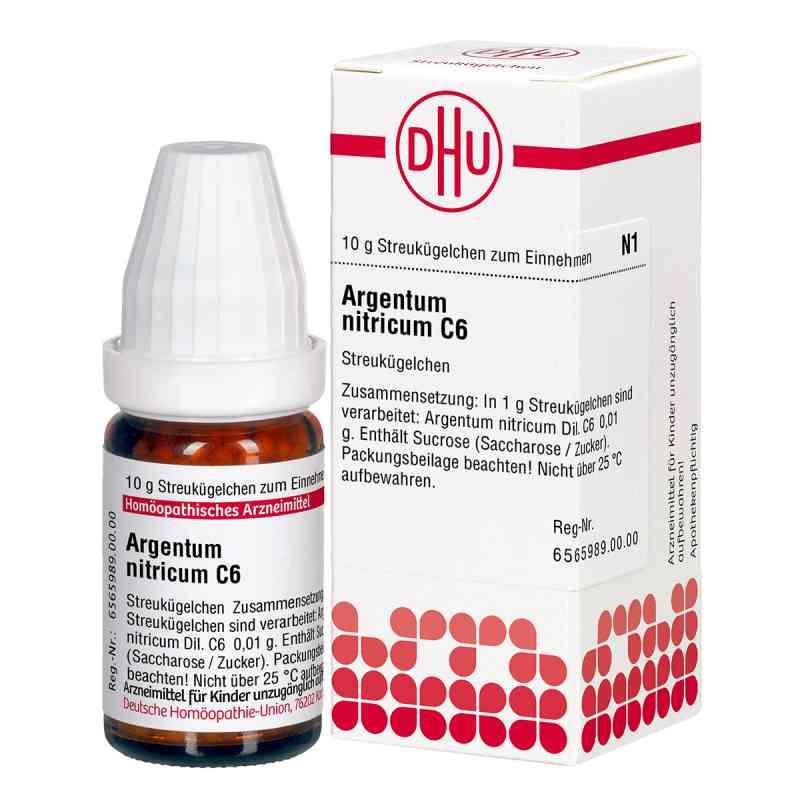 Argentum Nitricum C 6 Globuli  bei apo-discounter.de bestellen