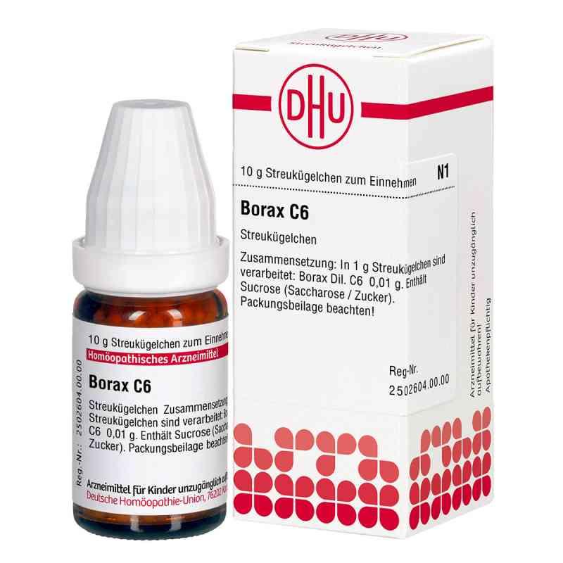 Borax C 6 Globuli  bei apo-discounter.de bestellen