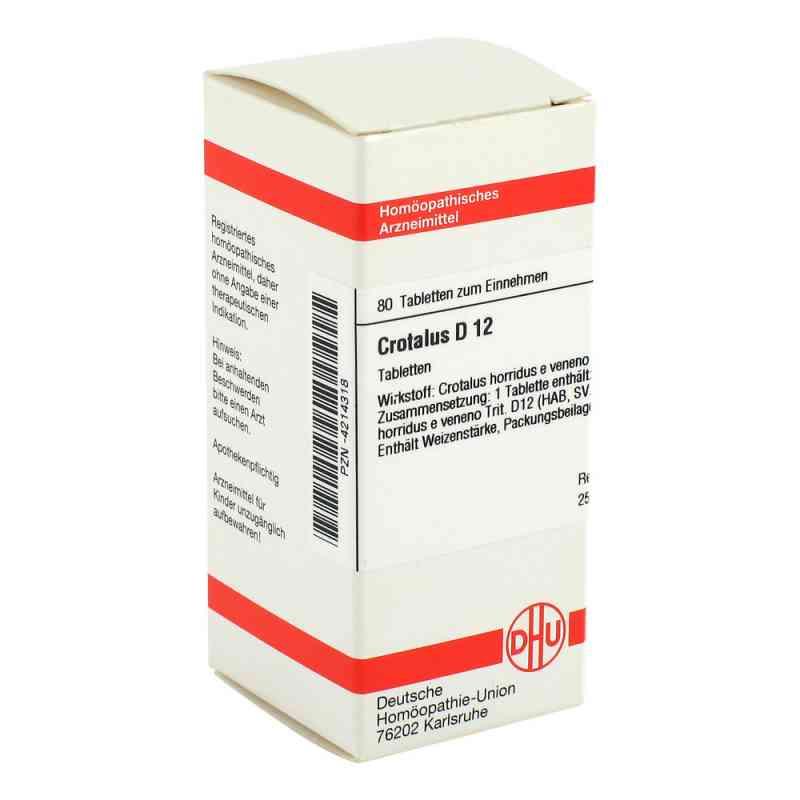 Crotalus D12 Tabletten  bei apo-discounter.de bestellen