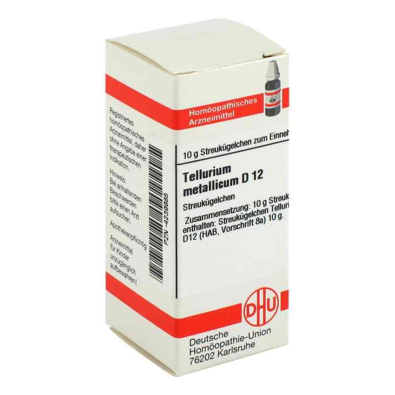 Tellurium Metallicum D 12 Globuli  bei apo-discounter.de bestellen