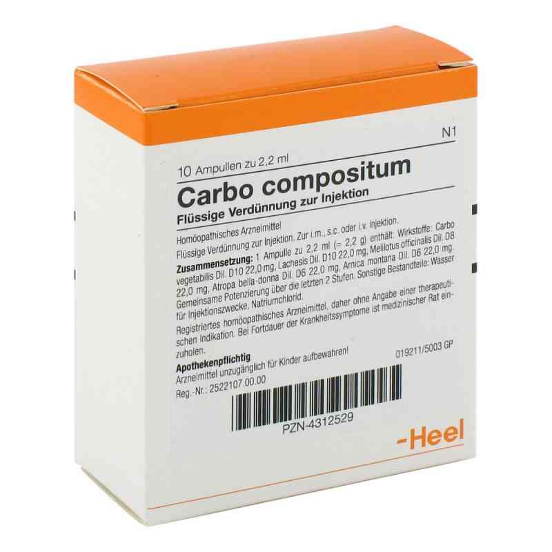 Carbo Compositum Ampullen  bei apo-discounter.de bestellen