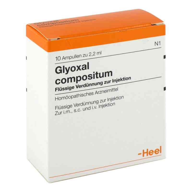 Glyoxal compositum Ampullen  bei apo-discounter.de bestellen