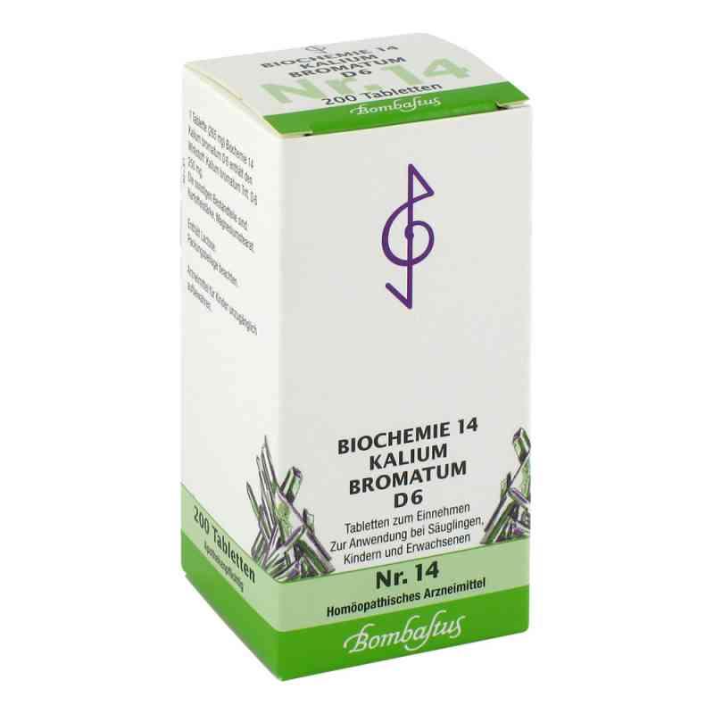 Biochemie 14 Kalium bromatum D6 Tabletten  bei apo-discounter.de bestellen