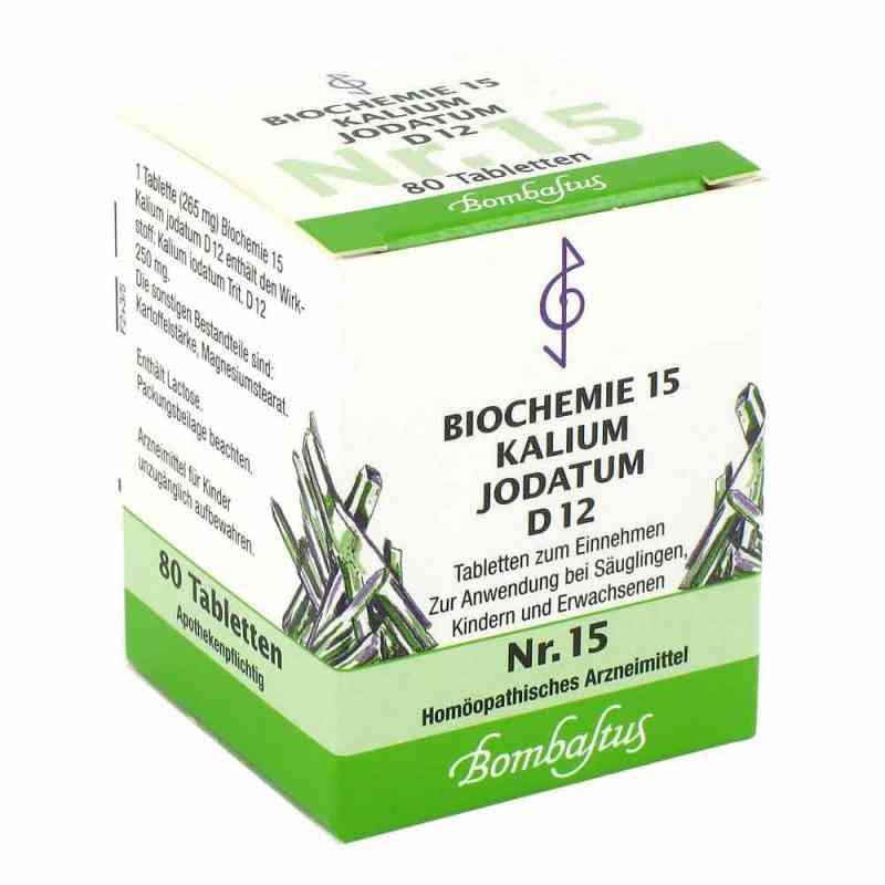 Biochemie 15 Kalium jodatum D12 Tabletten  bei apo-discounter.de bestellen