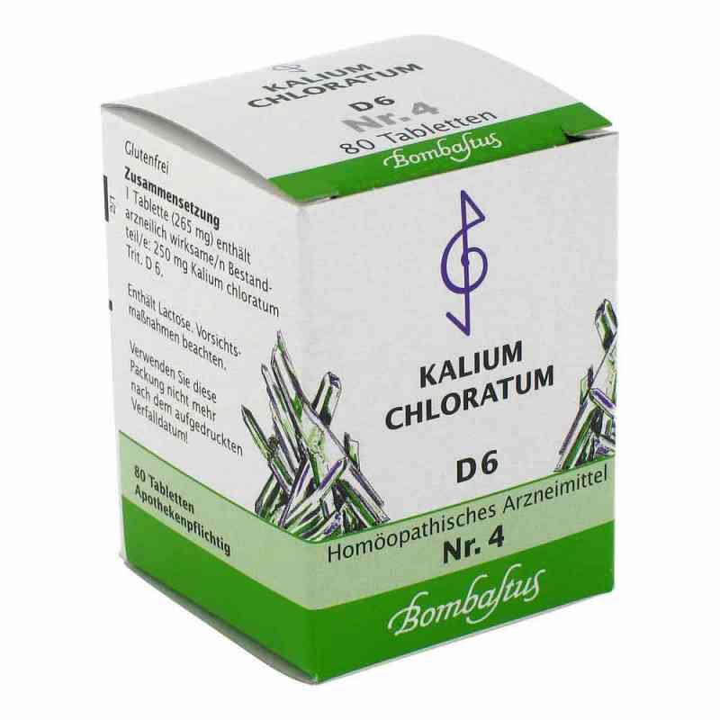 Biochemie 4 Kalium chloratum D6 Tabletten  bei apo-discounter.de bestellen