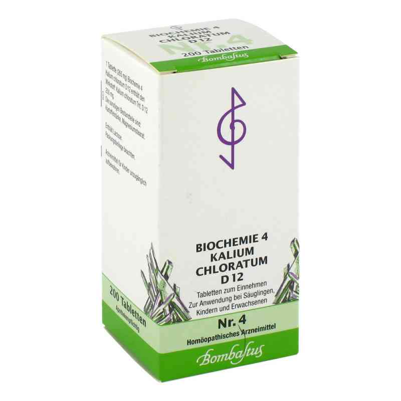 Biochemie 4 Kalium chloratum D12 Tabletten  bei apo-discounter.de bestellen