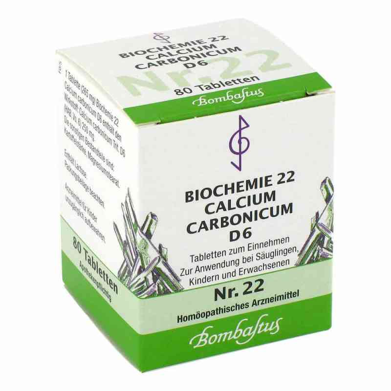 Biochemie 22 Calcium carbonicum D6 Tabletten  bei apo-discounter.de bestellen