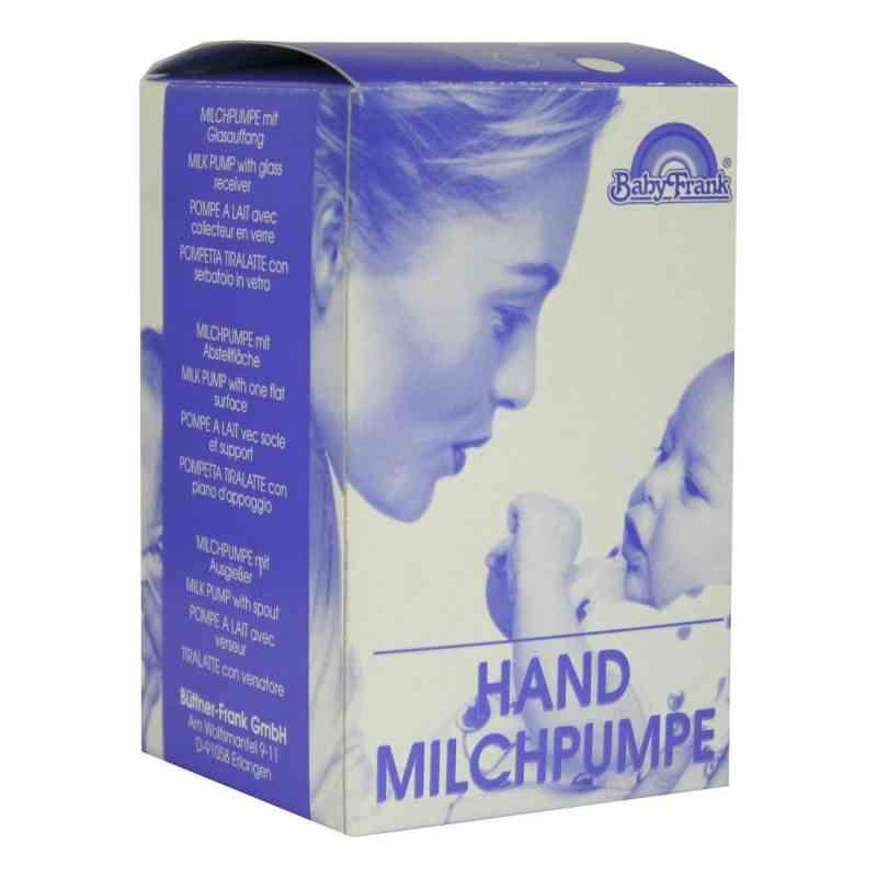 Milchpumpe Frank Hand mit Auffangbeh.Glas mit Abl.  bei apo-discounter.de bestellen