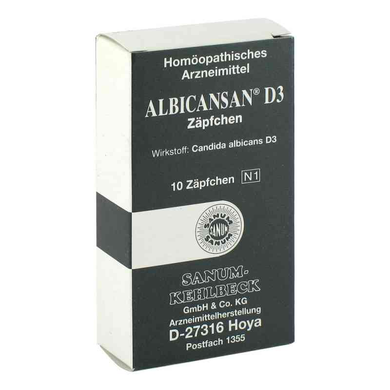 Albicansan D3 Suppositorien  bei apo-discounter.de bestellen