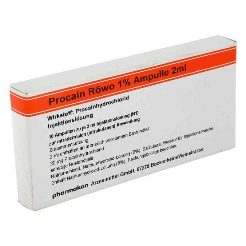 Procain Röwo 1% Ampullen 2 ml  bei apo-discounter.de bestellen
