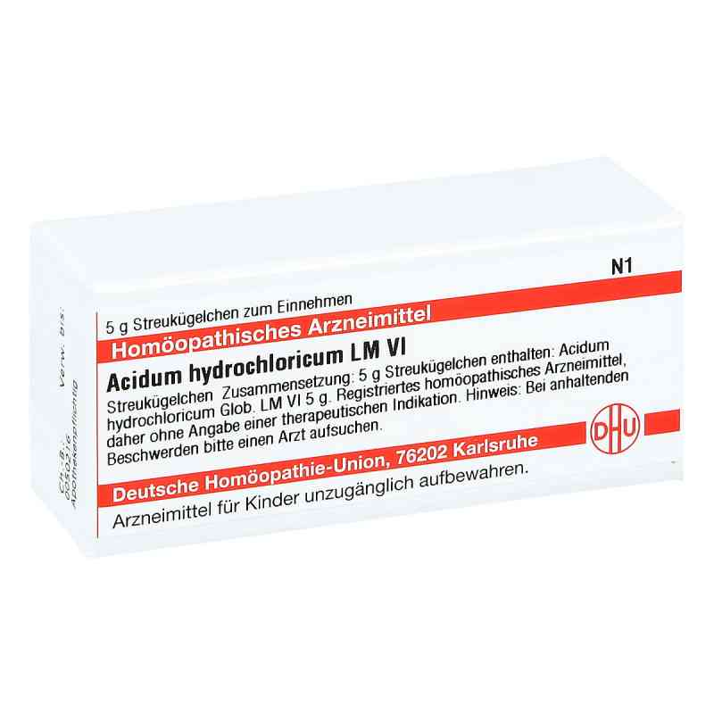 Lm Acidum Hydrochlor. Vi Globuli  bei apo-discounter.de bestellen