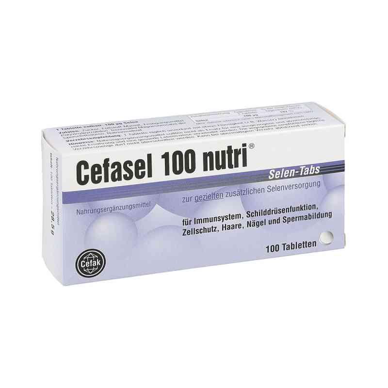 Cefasel 100 nutri Selen Tabs Tabletten  bei apo-discounter.de bestellen