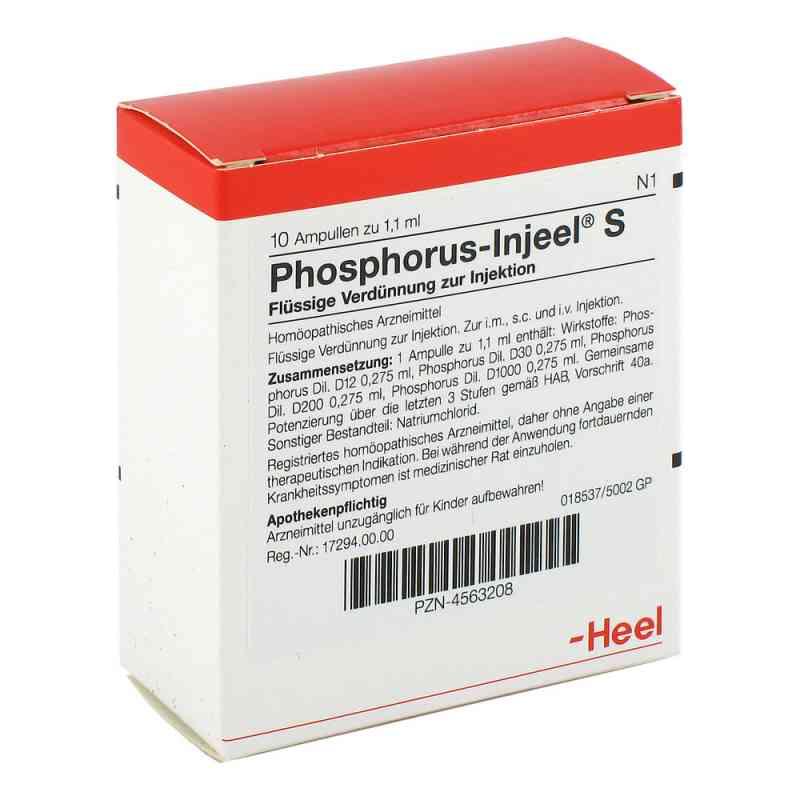 Phosphorus Injeel S Ampullen  bei apo-discounter.de bestellen