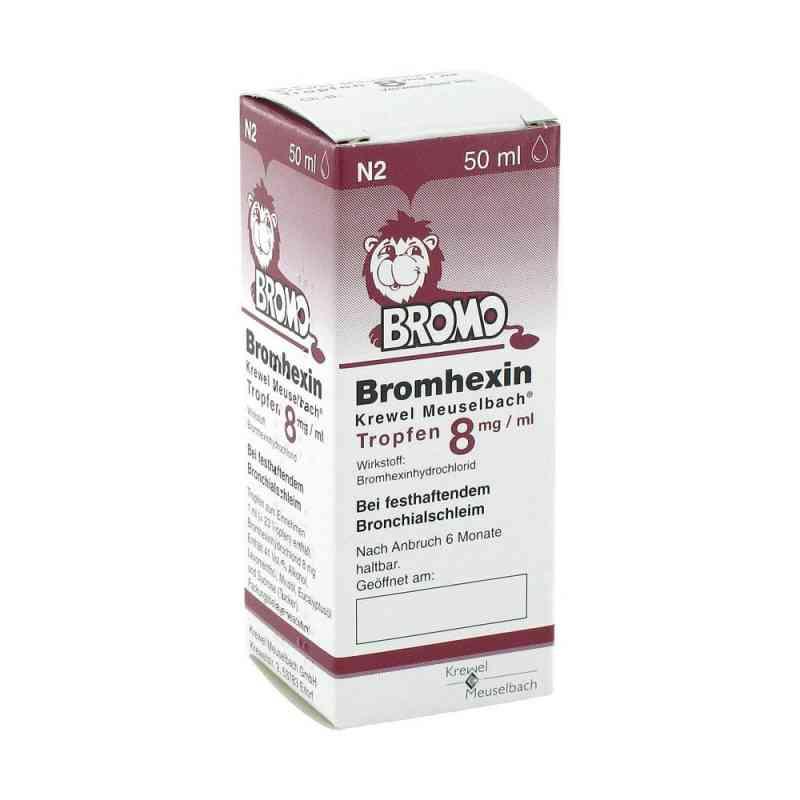 Bromhexin Krewel Meuselbach 8mg/ml bei apo-discounter.de bestellen