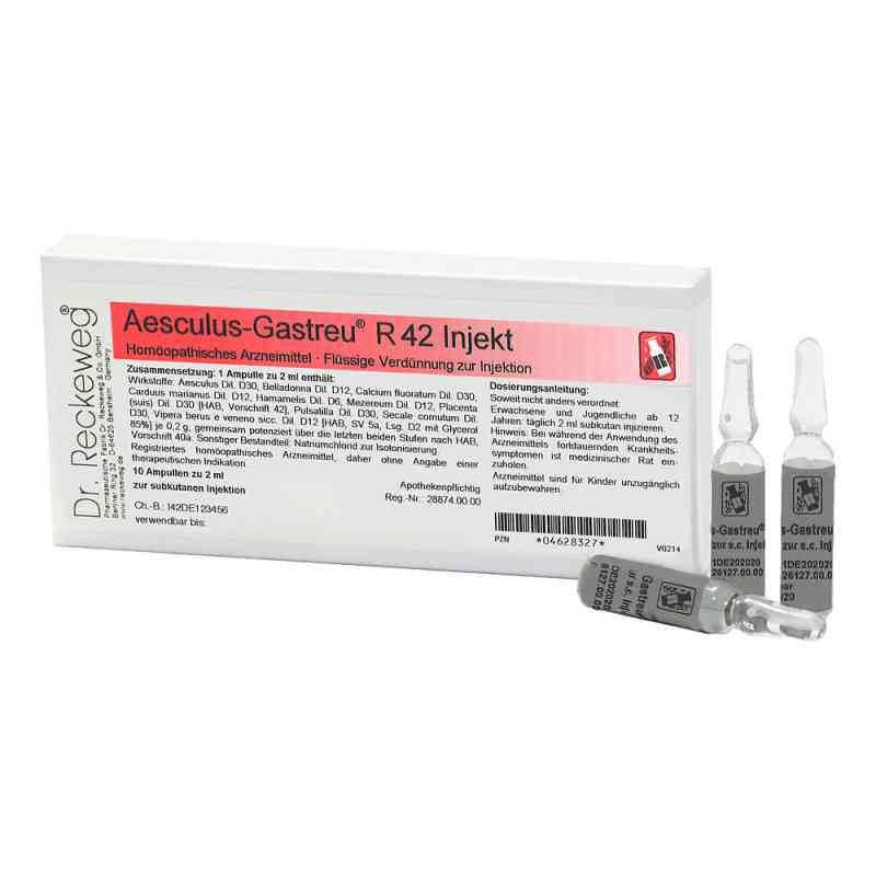 Aesculus Gastreu R 42 Injekt Ampullen  bei apo-discounter.de bestellen